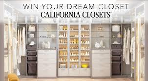 custom closets. Win A $5,000 Custom Closet Makeover From California Closets! Custom Closets