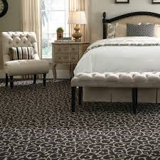 carpet floor bedroom. awesome bedroom with upholstered headboard bed and tufted bench plus black patterned tuftex carpet floor b