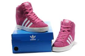 adidas shoes high tops pink and black. adidas women\u0027s pink white originals increase heeled shoes high tops and black
