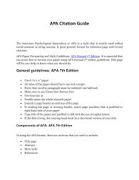 Apa Citation Guidepdf Docdroid