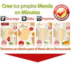 Plantillas Para Menus De Restaurantes Gratis Under