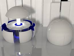 futuristic space saving furniture. Kure Pod Dining Table Chairs Wish Could See These In Cool Cafe And Futuristic Space Saving Furniture
