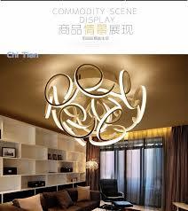 minimalism modern led ceiling chandelier for living study room bedroom ideal designer modern led chandelier lamp