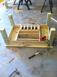 Beer Cooler Coffee Table Ana White Patio Table With Built In Beer Wine Coolers Diy Projects