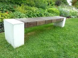 concrete garden bench. Concrete Garden Bench Medium Size Of Shocking Photos Ideas .