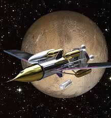 Image result for rocket in space