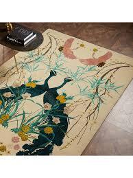 BuyWendy Morrison for John Lewis Peacocks Rug, L240 x W170 cm Online at  johnlewis.com | Rugs, Rugs on carpet, John lewis