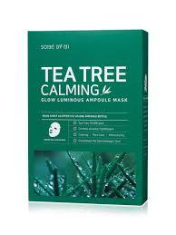 Some By Mi <b>Ампульная тканевая маска для</b> сияния кожи Tea Tree ...