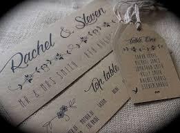 diy wedding invitation kits michaels unique rustic kraft brown fl wedding table seating plan tags cards