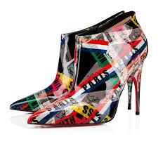 Christian Louboutin Size Chart Reviews Gorgona 100 Multi Patent Loubiballage Women Shoes