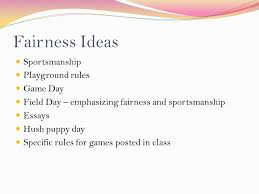 mountain view elementary prince william county schools 17 fairness ideas sportsmanship playground rules game day field day emphasizing fairness and sportsmanship essays hush puppy day specific rules for games