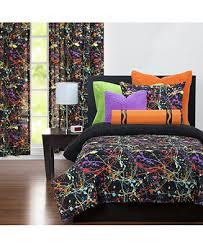 Crayola <b>Neon</b> Splat <b>5 Piece</b> Twin Luxury Duvet Set & Reviews - Bed ...