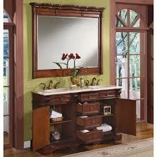 58 silkroad olivia double sink cabinet bathroom vanity wfh 0197 cm