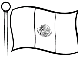 mexican flag waving drawing. Exellent Mexican Mexican Flag Coloring Page Free  Flags Pages Of With Waving Drawing R