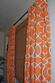 Geometric Patterned Curtains Chic Raleigh Orange Curtains Patterned Curtains Geometric