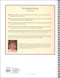 elegant essay teachers manual details rainbow resource elegant essay teachers manual additional photo inside page