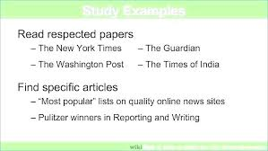 Newspaper Article Writing Template Caseyroberts Co