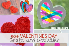 over 50 awesome valentine s day crafts and activities for kids