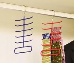 High Quality Coat Rack 100pcs Tie rack Dip Non slip Metal necktie Storage rack high quality 77