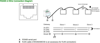 connecting an egx150 to a serial rs485 rs485 4 wire wiring diagram Rs485 2 Wire Connection Diagram #14
