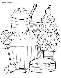 Small Picture Food Coloring pages Doodle Art Alley