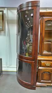 Decorative Display Cases Shop Stuff Store Vintage Decorative Furniture Curved Glass