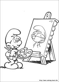 The Smurfs Coloring Picture Smurfen Kleurplaten Kleurplaten