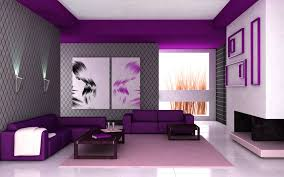 Purple And Green Living Room Decor Purple And Green Living Room Ideas Concrete Fireplace Dining Space
