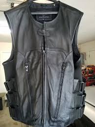 leather vest wilson s