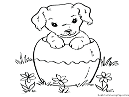 Dog Coloring Pages To Print Coloring Pages Cat And Dog Coloring