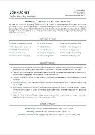 Digital Marketing Resume Template Digital Marketing Associate Resume