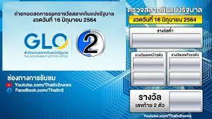 ผลการออกรางวัล สลากกินแบ่งรัฐบาล งวดวันที่ 16 มิถุนายน 2564 - YouTube