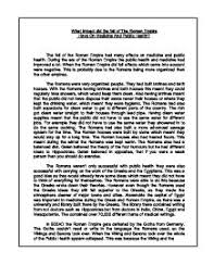 fall of rome dbq essay fall of rome dbq essay