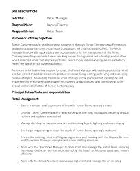 Sales Associate Job Dutie Simple Financial Associate Job Description Simple Resume Format
