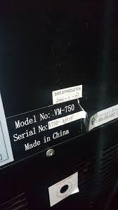 Vm 750 Vending Machine Custom Gaines Vending Machine VM48 For Sale In Commerce CA OfferUp