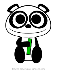 Small Picture Coloring Pages Cartoon Panda Drawings Baby Red Bear Maxvision