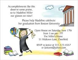 Graduation Lunch Invitation Wording College Graduation Personalized Party Invitations By The Personal
