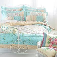 duck egg blue milly duvet set