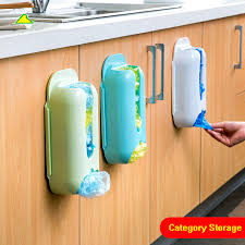 carrier bag storage. home useful wall mount plastic carrier bag storage container holder organizer recycle box hot sale(