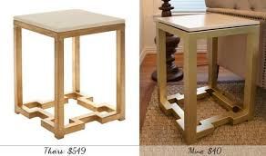 diy mdf furniture. diy side tables with greek key base painted furniture the inspiration table mdf o