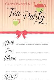Tea Invitations Printable Bridal Party Dresses Traditional Bridal Shower Tea Party
