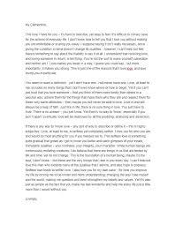 Love Letter Template 44