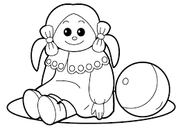 Baby Toys Coloring Pages Collection Coloring For Kids 2019
