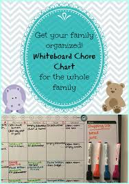Chore Chart Staples Get Your Family Organized Whiteboard Family Chore Chart