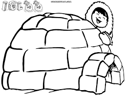 Small Picture Igloo coloring pages Coloring pages to download and print