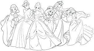 Disney Princess Coloring Pages Frozen Elsa And Anna Printable