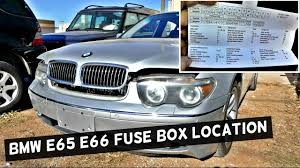 bmw e65 e66 fuse box location and diagram 745i 745li 750i 750li bmw e63 fuse box location at 2006 Bmw 750i Fuse Box Diagram