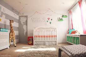 baby room hot air balloon decorations