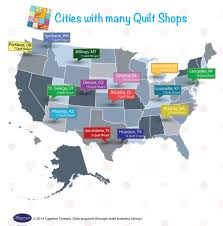 Which cities have the most quilt shops? | Quilts, Quilts, Quilts ... & Which cities have the most quilt shops? Adamdwight.com