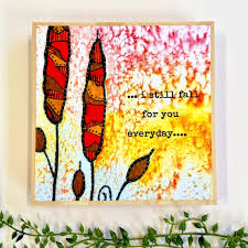 fall wall art inspirational art fall
